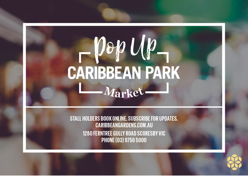 Caribbean Gardens Postcard Front