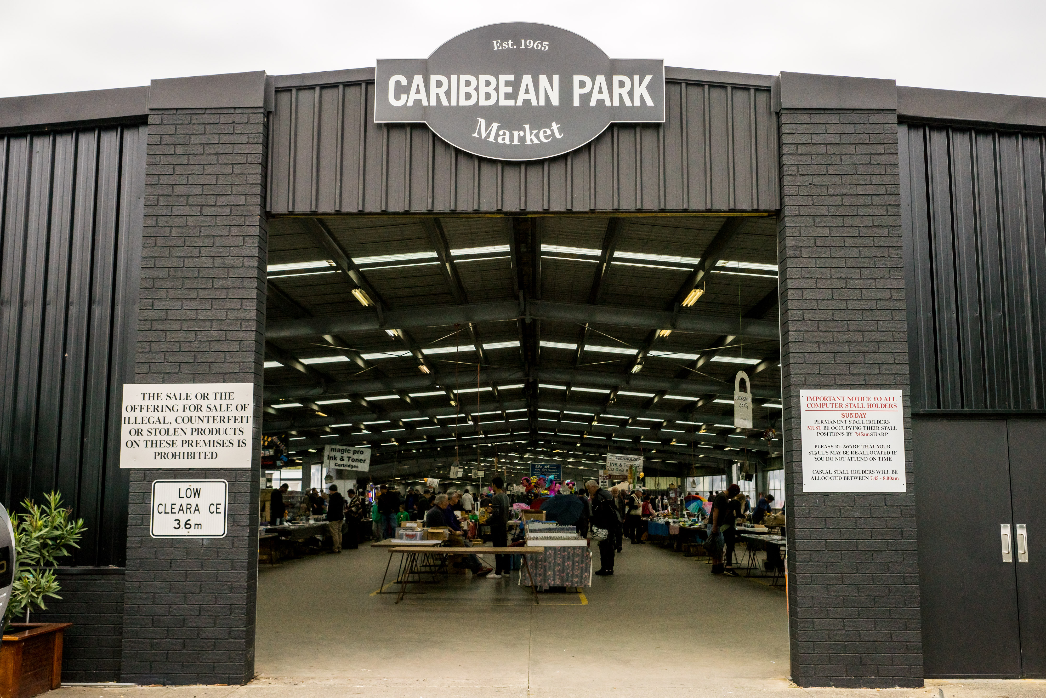 Caribbean Gardens and Market